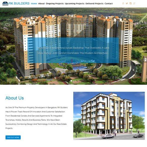 Builder Website Designing