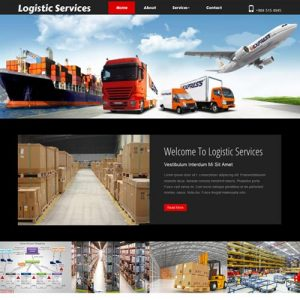 logistics-website-designing