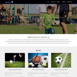 Sports website designing in Bangalore