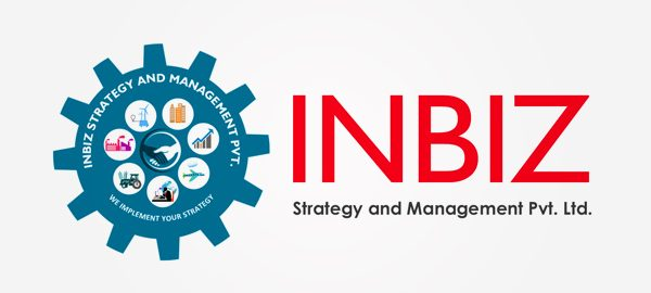 Creative logo for inbiz in Bangalore