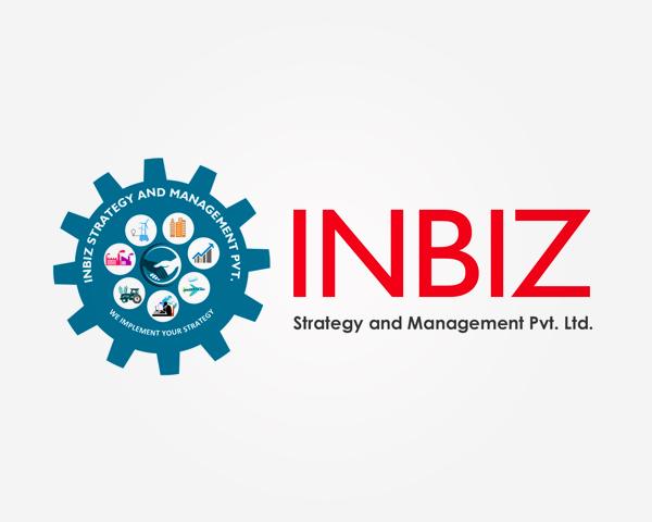 Creative logo for inbiz in Bangalore