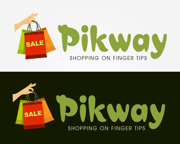 Creative logo design for pikway in bangalore