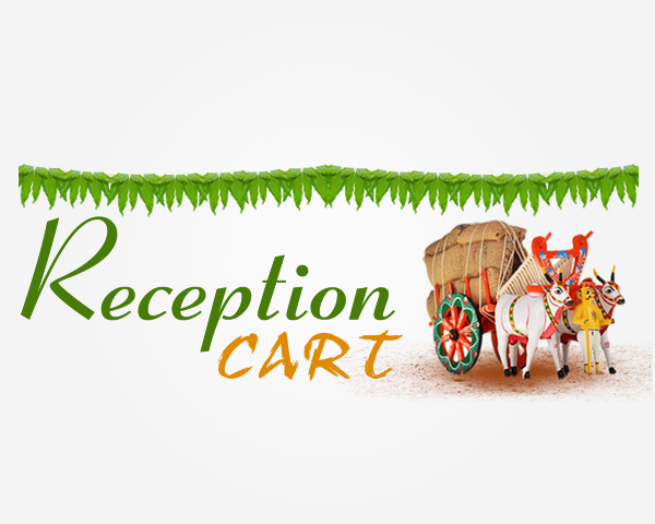 Logo design for reception-cart in Bangalore