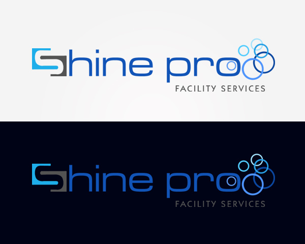 Creative logo design for shinepro in Bangalore