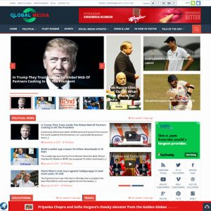 News portal global media in Bangalore