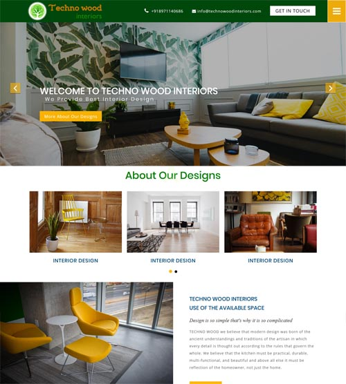 Website design-technowoodinteriors