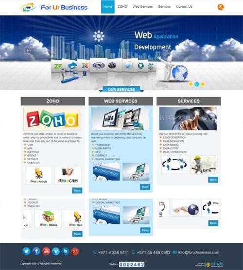Website design - forurbusiness
