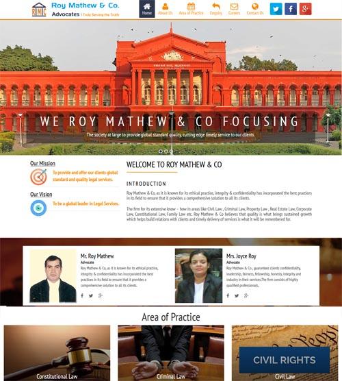 Website design - roymathewco