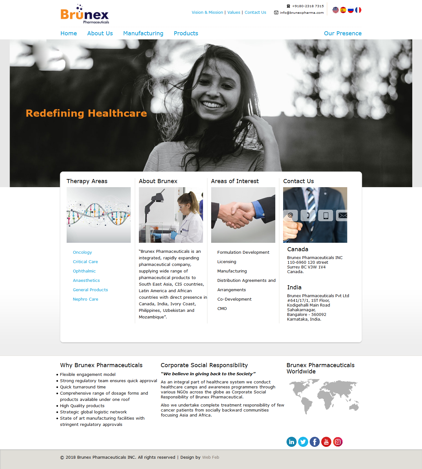 Website Designing for Medical Industry