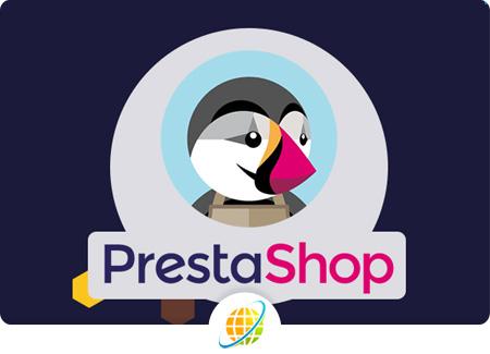 prestashop website design in Bangalore