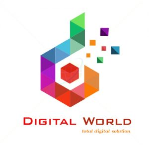 Creative logo for Digital world in Bangalore