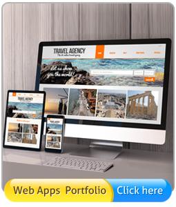 Web application portfolio