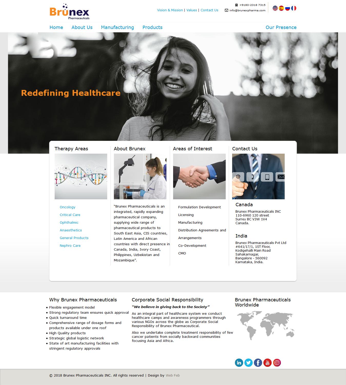 Website Designing for Medical Industry